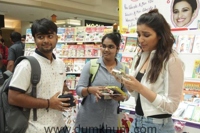 Parineeti Chopra turns bookseller for Mission Sapne