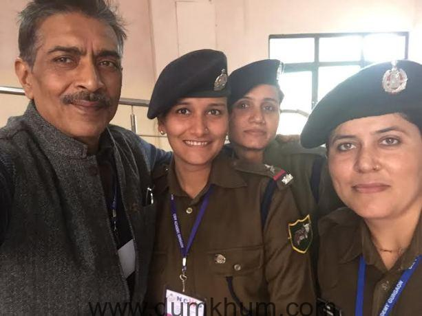 Prakash Jha's Jai Gangaajal Trailer Impresses Female Cops At The 7th National Conference Of Women In Police