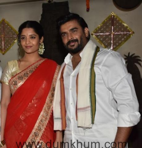 R Madhavan, Raju Hirani & Ritika