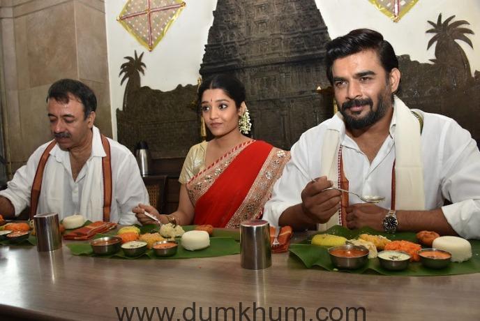 Raju Hirani, Ritika & Madhavan-1