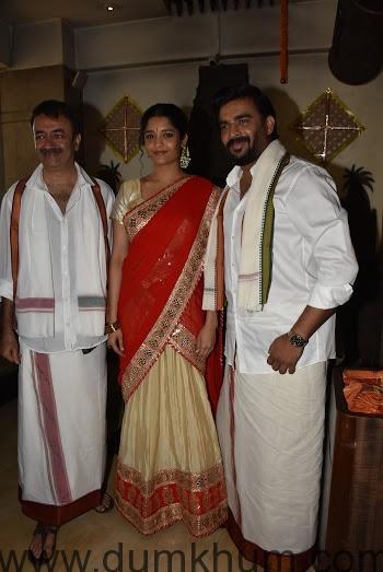 Raju Hirani, Ritika & Madhavan-2