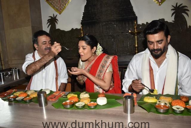 Raju Hirani, Ritika & Madhavan
