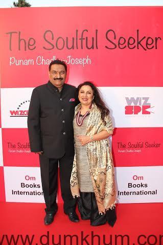Sabbas Joseph, Director, Wizcraft Inte ... ife and author Punam Chadha Joseph.