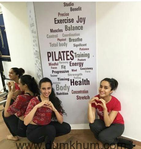 Shraddha Kapoor- Pilates