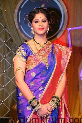 Shweta Mahadik as Pavitra at the launch of COLORS' Krishndasi