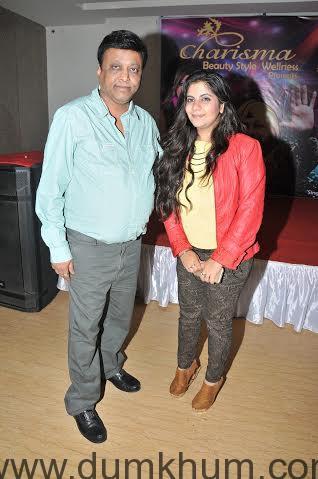 Tarranum Malik with Manik Soni