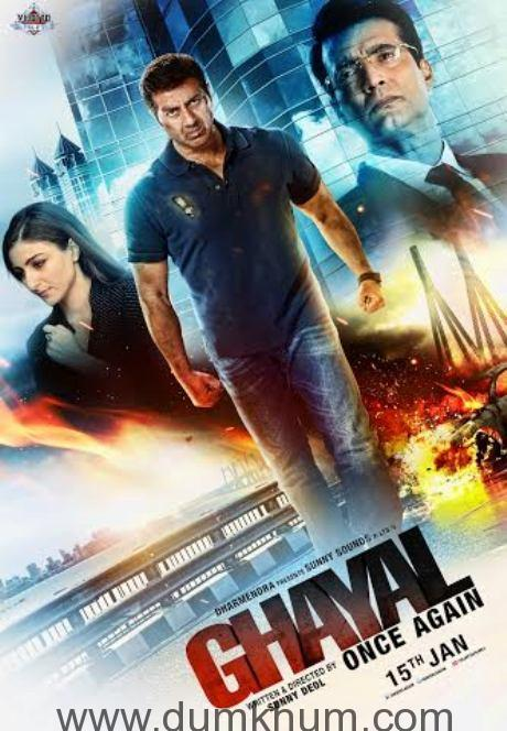 Third poster - Ghayal Once Again