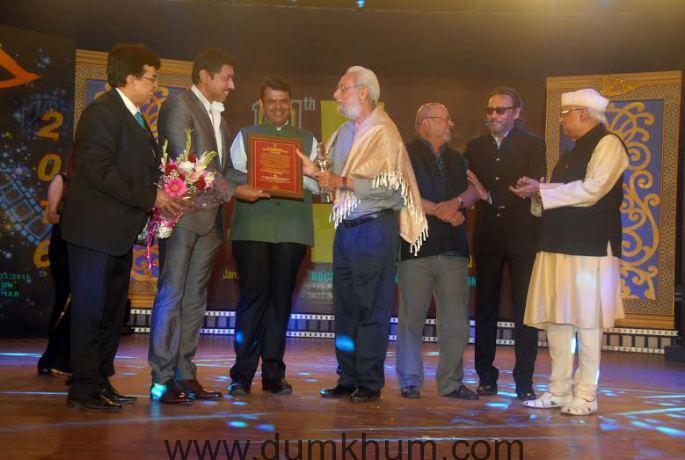 Veteran wildlife filmmaker Naresh Bedi honoured with V Shantaram Award Documentary film movement needs better outreach – Col Rathore