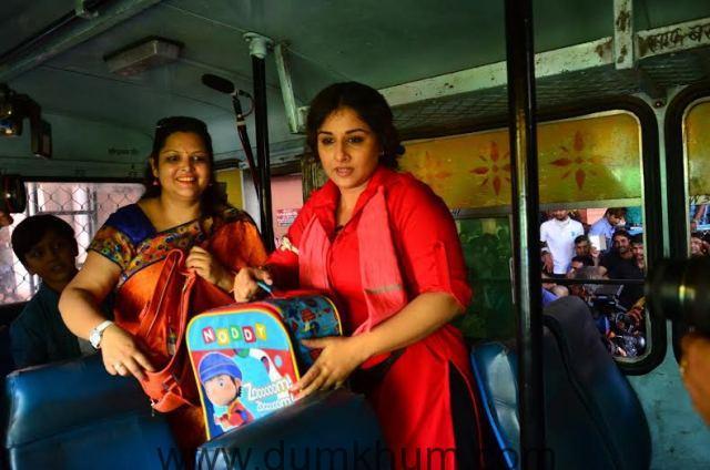 Vidya Balan turns female coolie for Mission Sapne