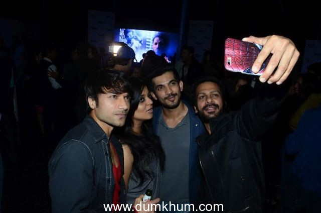mumbai tigers of box cricket league launch their power