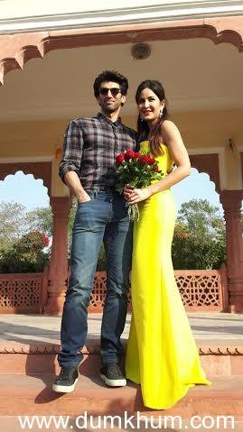 Aditya and Katrina's International Rose Day celebrations at Jaipur's Jai Mahal Palace-