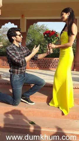 Aditya and Katrina's International Rose Day celebrations at Jaipur's Jai Mahal Palace