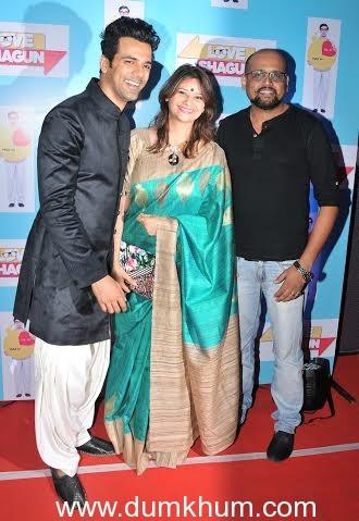 Anuj Sachdeva with Isha & Saandesh Nayak