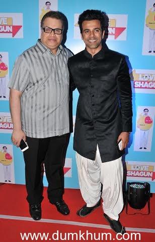 Anuj Sachdeva with Ramesh Taurani