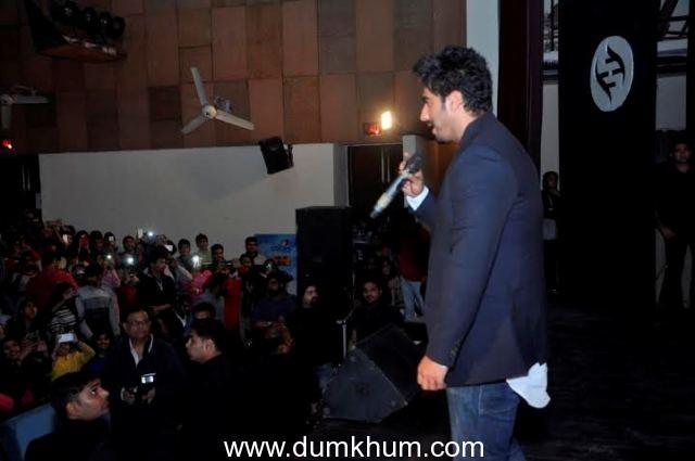 Arjun Kapoor in Hindu College, Delhi -