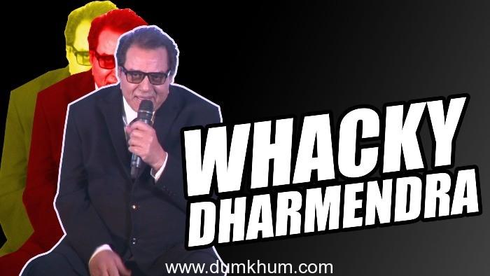 Dharmendra at his wackiest best