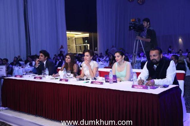 From Left Tarun, Manali Jagtap, Dia Mirza, Sukirti Kandpal, Gagan Sharma
