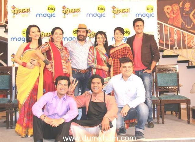 Jamnadas J.D. Majethia along with the entire cast namely Ketki Dave, Pranoti Pradhan,Sandit Tiwari,Dharti Bhatt, Sunil Sawara and Vaidehi Dhamecha.