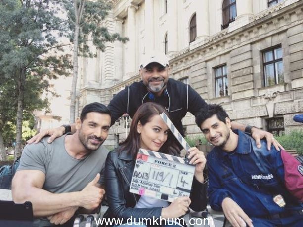 Why Force 2 team was denied permission to shoot in China?