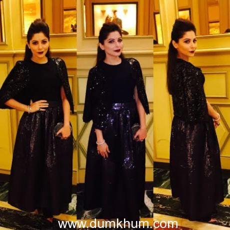 Kanika Kapoor at Milan Fashion Week-
