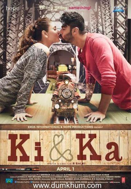 Ki & Ka starring Arjun Kapoor and Kareena Kapoor Khan