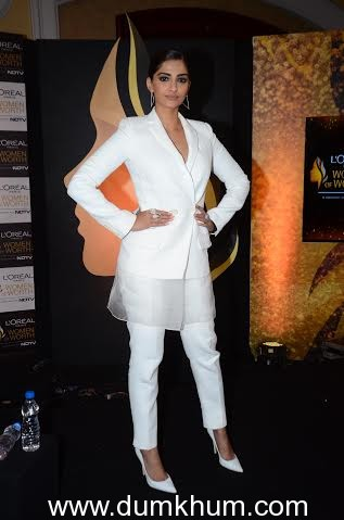 L'Oreal Paris Brand Ambassador Sonam ... Worth Awards Press Conference