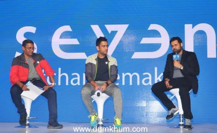 MS Dhoni launches SEVEN with Rhiti Group-