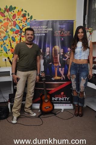 Monica Dogra and Ehsaan Noorani jat th ... sic to host pf Akanksha Foundation