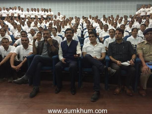 Prakash Jha, I.G Vikas Sahay, Manav Kaul and Himanshu Shukla (2)