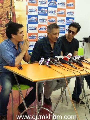 Prakash Jha, Manav Kaul, Salim- Sulaiman at the Maya Thagni launch (4)