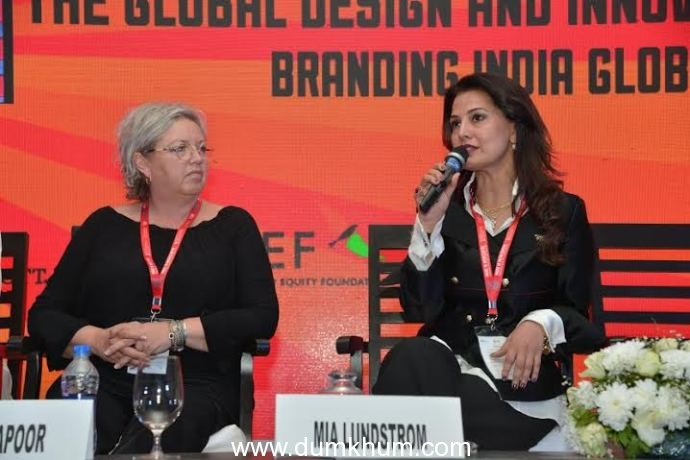 Ritu Beri hosted 'The Global Design & Innovation Session 2016' as part of the Prime Minister's 'Make in India Week