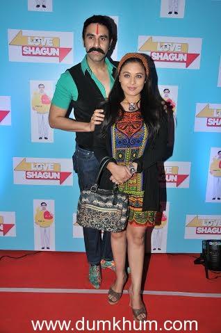 Sandip Soparkar with Sharbani Mukherjee