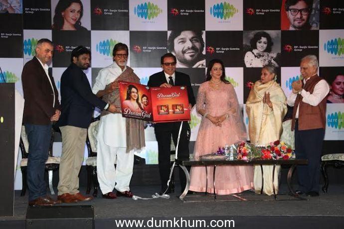 """Saregama launches Hema Malini's music album """"Dream Girl"""" conceptualized & composed by Babul Supriyo"""