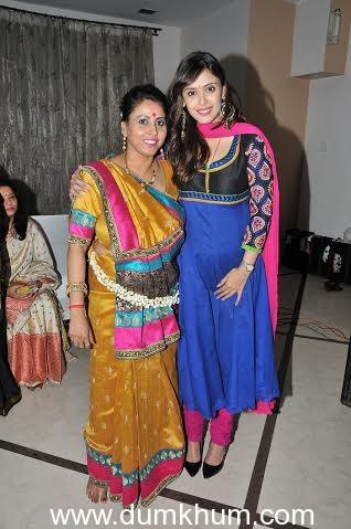 Shomu Mitra with Hrishitta Bhat
