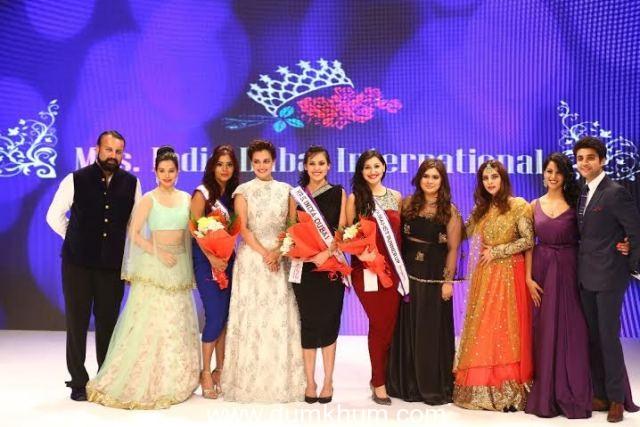 Winners, Gagan Sharma, Dia Mirza,Sukirti Kandpal, Manali Jagtap