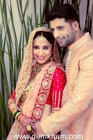 Actress Urmila Matondkar with Husband Mohsin Akhtar Mir-