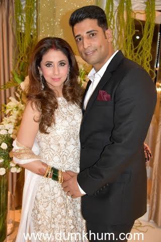 Actress Urmila Matondkar with Husband Mohsin Akhtar Mir