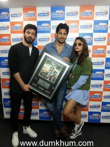 Alia Bhatt, Sidharth Malhotra and Fawad ... e their upcoming film 'Kapoor & Sons'.