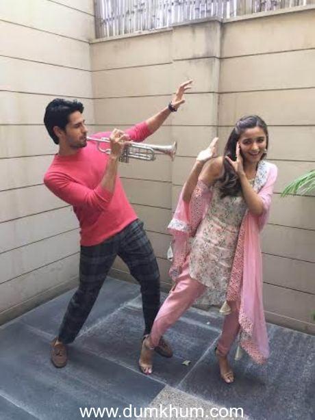 Alia bhatt and Sidharth Malhotra in Jaipur