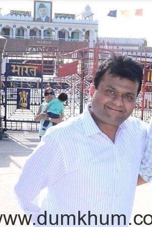 Aneel Murarka at Wagah Border (1)