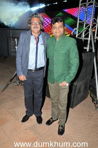 Capt. Sunil Nangia with Aneel Murarka
