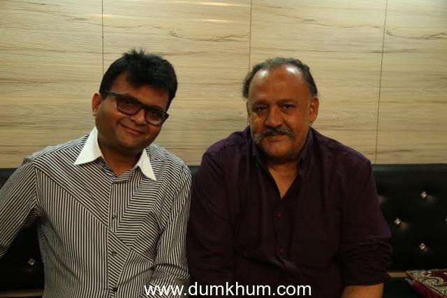 Industrialist & Philanthropist Aneel Murarka with Actor Alok Nath