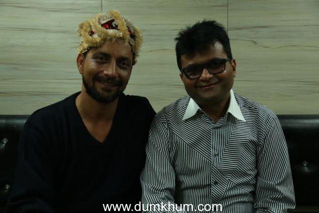Industrialist & Philanthropist Aneel Murarka with Actor Deepak Dobriyal
