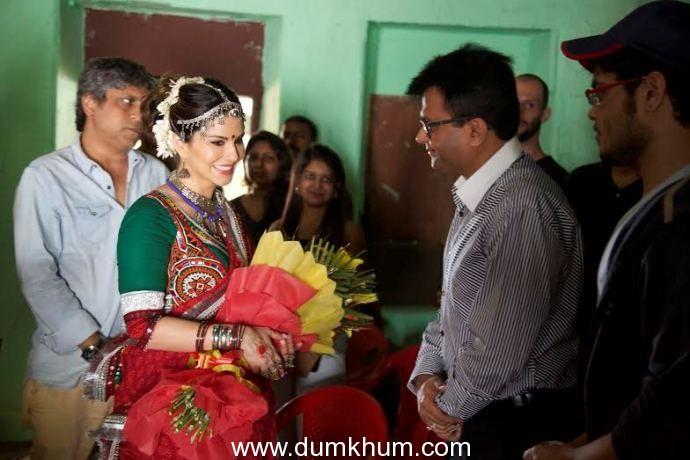 Industrialist & Philanthropist Aneel Murarka with Actress Sunny Leone