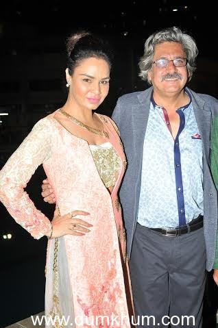 Kavita Verma with Capt. Sunil Nangia