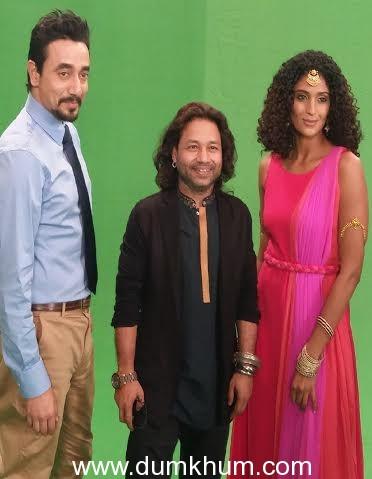 Mantra, Kailash Kher and Miss India Universe Vasuki