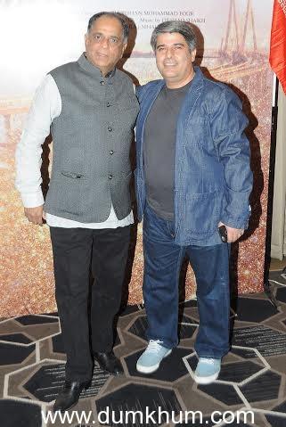 Pahalj Nihalani with Javad Norouz ... ucers of Salaam Mumba