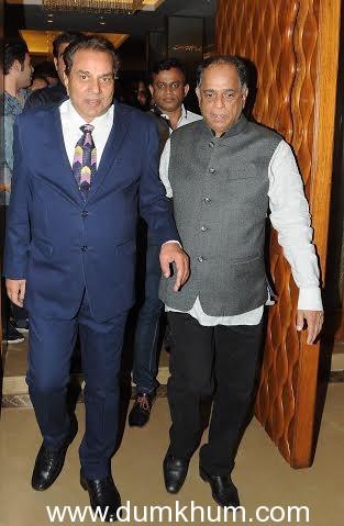 Pahlaj Nihalani with Dharmendra