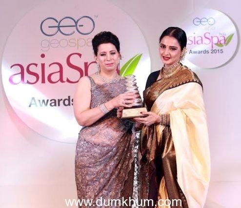 Parineeta Sethi - Chief Editor Asia Spa with Rekha (1)