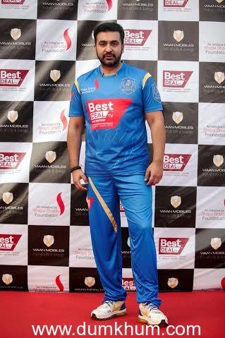 Raj Kundra at the Charity Match (1)